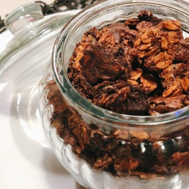 Chocolate crunchy fit: nutri la tua salute con i fiocchi d'avena