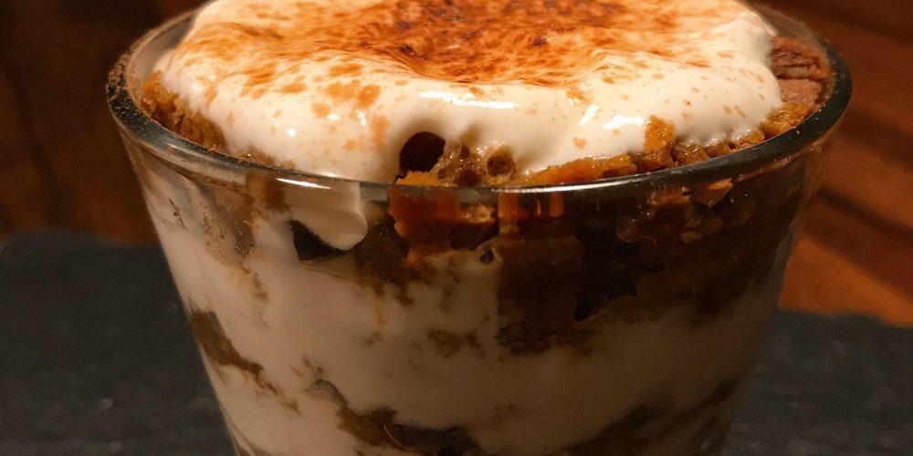 Tiramisù Fit: gusto e leggerezza in un'irrinunciabile coccola proteica