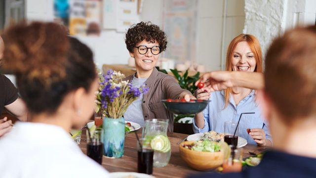 La dieta per la famiglia, la salute a tavola